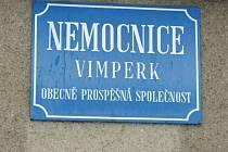 Místní zastupitelé se v pondělí sejdou v Nemocnici Vimperk o.p.s.. Ilustrační foto.