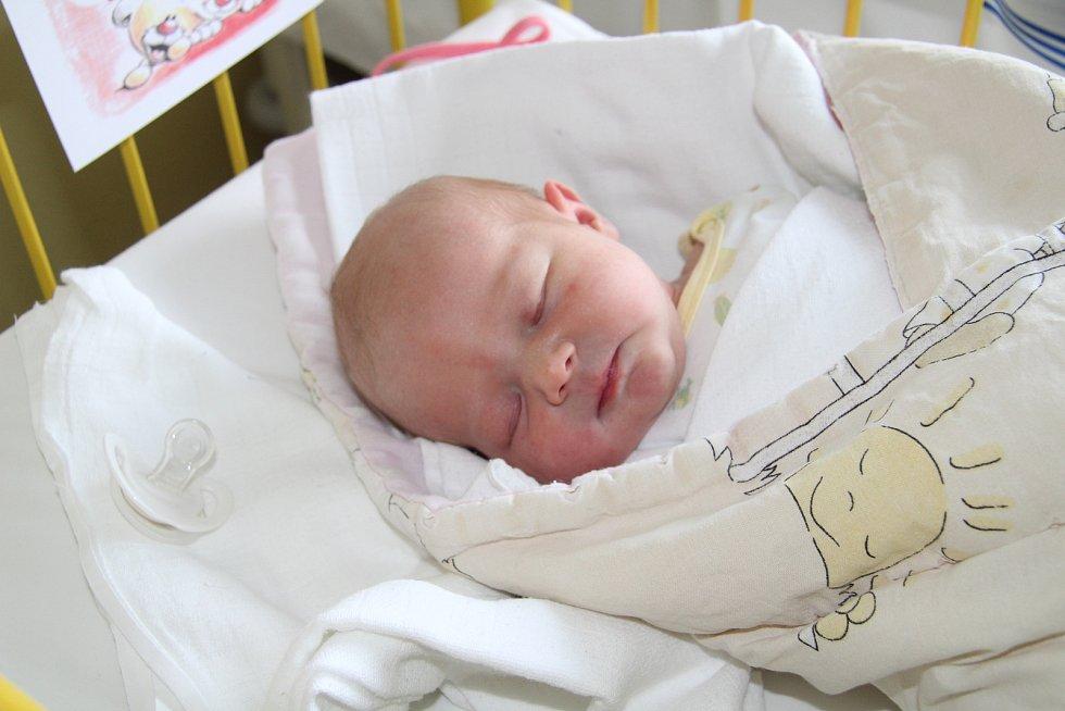 VIKTORIE SLÁDKOVÁ, PRACHATICE. Narodila se neděli 3. listopadu v 1 hodinu a 48 minut v prachatické porodnici. Vážila 2860 gramů. Má sestřičku Leontýnku (3,5 roku). Rodiče: Lenka Holubová a Tomáš Sládek.