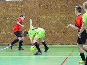 Prachatická sportovní hala hostila Pohár předsedy OFS Prachatice starších žáků. Vyhrál tým Vlachova Březí.