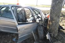 Nehoda u Babic na Prachaticku měla tragické následky.
