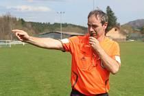 Václav Heinzl jako hráč rozhodčím často spílal, nyní je na druhé straně fotbalové barikády.