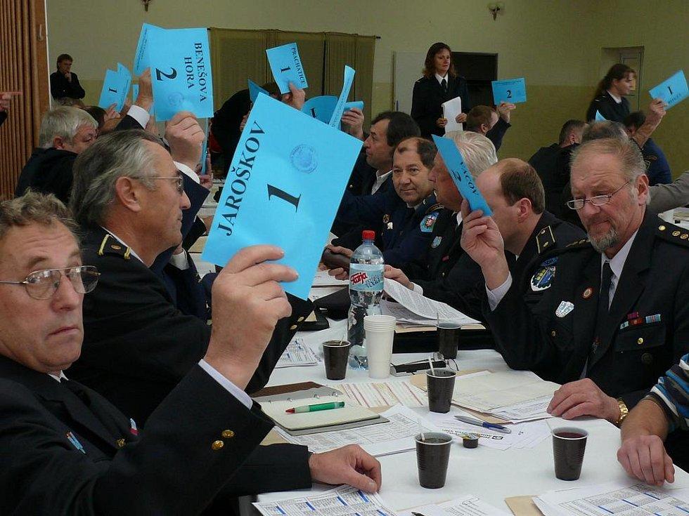 V sobotu se v Lažištích sešli zástupci sborů dobrovolných hasičů Prachaticka, aby zhodnotili letošní činnost a také, aby si udělali menší generálku na volební shromáždění delegátů v příštím roce.