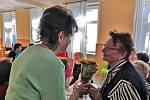 Výroční schůze Svazu tělesně postižených v Prachaticích.