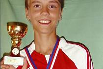 Kamila Neradová vyhrála další turnaj.