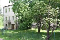 Prvorepubliková vila v Nádražní ulici v Prachaticích.