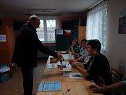 Parlamentní volby ve Svaté Máří.