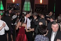 Růžičkový ples Oblastní charity ve Vimperku.
