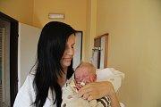 Matěj MALKUS, Prachatice. Narodil se v pondělí 29. října v 22 hodin a 20 minut v prachatické porodnici, vážil 3900 gramů a měřil 53 centimetry. Rodiče: Martina a Václav Malkusovi.