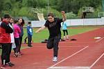Děti z prvního stupně ZŠ absolvovaly okresní atletickou olympiádu.