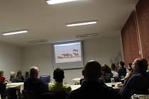 Vyprávění o Mongolsku ve Volarech.