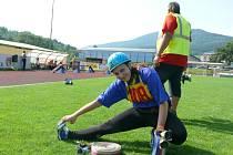 Do krajské soutěže v požárním sportu se pustili hasiči v sobotu a v neděli na prachatickém městském stadionu. Děti budou soutěžit v sobotu 20. června.