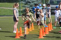 Druhým dnem pokračovala sportovně náborová akce Pojď si vybrat, co tě baví.