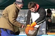 Na tradiční štědrovečerní tabuli nesmí ryba chybět. V Čechách a celé střední Evropě je tou nejoblíbenější rybou stále kapr.