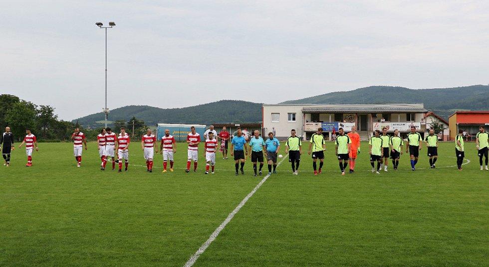 Fotbalová příprava Lhenice - Strunkovice 2:1.