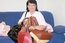 Šest kabelek věnovala Alena Fišerová z Prachatic.