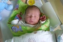 Šimon Smažík se narodil ve čtvrtek 23. června ve 12.16 hodin ve strakonické porodnici a vážil 3,87 kilogramu. Prvorozeného syna si manželé Veronika a Josef Smažíkovi odvezli domů, do Vimperka.