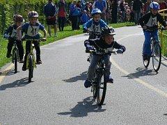 Dětský triatlon si získal velkou oblibu.