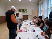 Parlamentní volby ve Vimperku - 3. okrsek.