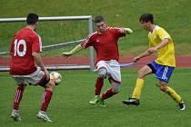Fotbalová I.A třída: Vimperk - Strunkovice 5:1.