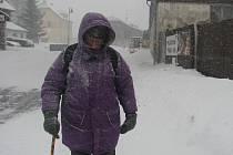 Ranní počasí na Kvildě na Prachaticku