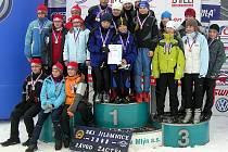 Ski klub Šumava vyhrál finále závodu Hledáme novou K. Neumannovou.