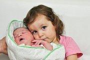 Tereza ŠTROBLOVÁ, Dolany u Čkyně. Narodila se v neděli 2. prosince v 19 hodin a 48 minut ve strakonické porodnici. Vážila 4330 gramů. Má sestřičku Karolínku (2,5 roku). Rodiče: Alena a Vladimír.