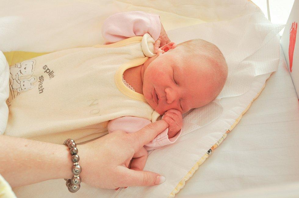 Eliška Kaňková se narodila 14. července v 19:49 hodin s váhou 2710 gramů ve strakonické nemocnice. Rodiče Žaneta a Ladislav pocházejí ze Čkyně.