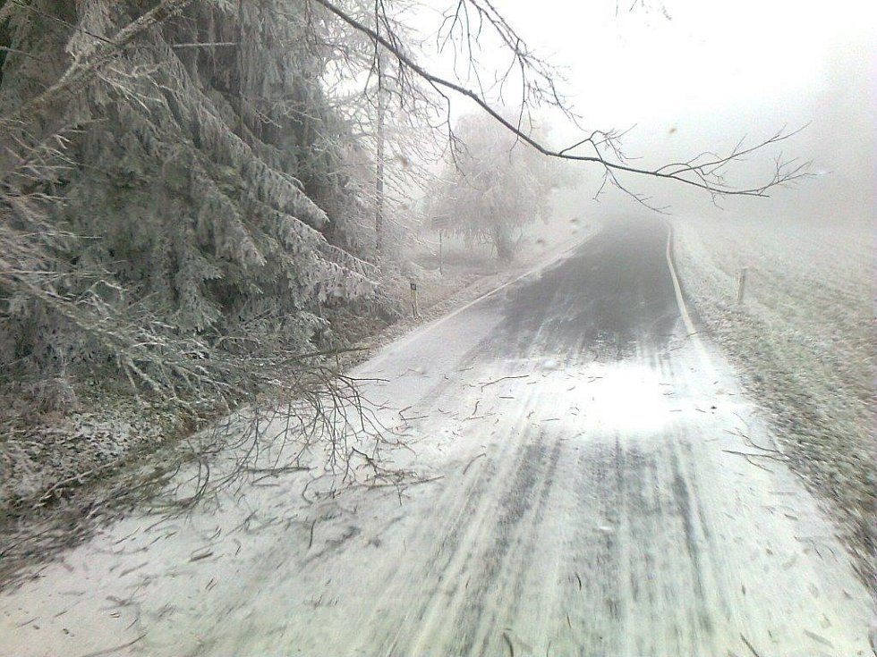 Úsek z Tisovky do Markova na Ktišsku.