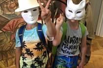 Svatomářští školáci vyrážení na výlety i exkurze. Jeden z nich je v roce 2018 zavedl do Muzea maškar v Milevsku.
