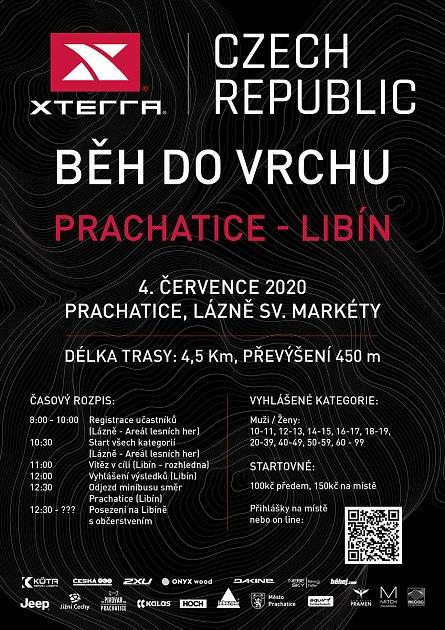 Běh do vrchu zPrachatic na Libín se chystá už vsobotu 4.července.