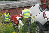 Tragická dopravní nehoda u Malovic.