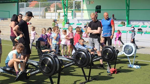 Pojď si vybrat, co tě baví je akce určená pro děti, při které si mohou vyzkoušet různé sporty.