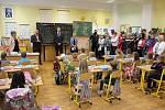 Zahájení školního roku v prvních třídách ZŠ Vimperk, Smetanova.