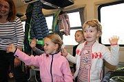 Prachatičtí školáci vyrazili na Matýskovu stezku do Zbytin.