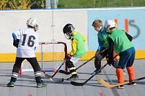 Okresní kolo seriálu Hokejbal proti drogám završili v pátek dopoledne nejmladší hráči z 1. - 3. tříd ZŠ.