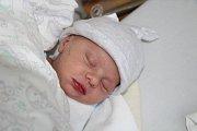 Vojtěch KUNCL, Vimperk. Narodil se 22. listopadu v 10.12 hodin, vážil 3080 gramů a měřil 51 centimetr. Rodiče: Jana a Zdeněk Kunclovi.
