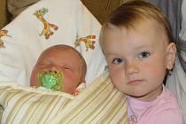 Jakub Lukesch se narodil v prachatické porodnici v pátek 30. září v 7.20 hodin. Vážil 3820 gramů a měřil 51 centimetrů. Rodiče Věra a Vít Lukeschovi jsou ze Záblatí. První fotografování malého Jakuba si nenechala ujít dvouletá sestřička Kateřina.
