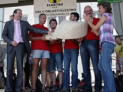 První místo a putovní dřevák získali borci z Perlesreutu.