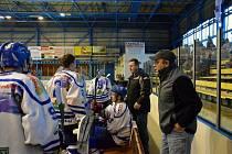 Hokejisté Vimperka ladí formu na novou sezonu. Ilustrační foto