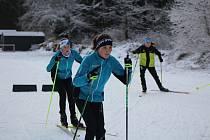 Ještě v polovině prosince se mohli mladí závodníci připravovat na Vodníku. Od 19. prosince jsou bez závodů i tréninků.
