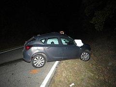 Tragický střet osobního auta s cisternou u Budilova na Prachaticku.