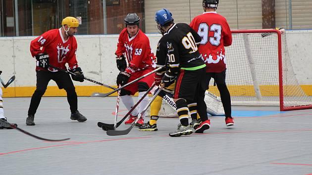 Víkend přinese řadu zajímavých hokejbalových duelů.