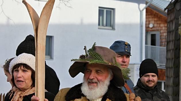 V sobotu 25. ledna se ve Kvildě sešli lyžníci.