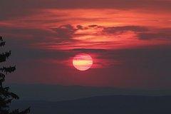 Kouzla na obloze nad Šumavou. Foto: Roman Szpuk