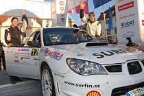 Další ročník Rallye Šumava Mogul Klatovy odstartoval. V sobotu se jede také na Vimpersku a Prachaticku.