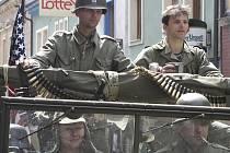 Americká armáda ve Vimperku po 62 letech.