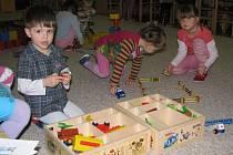 Děti v husinecké školce