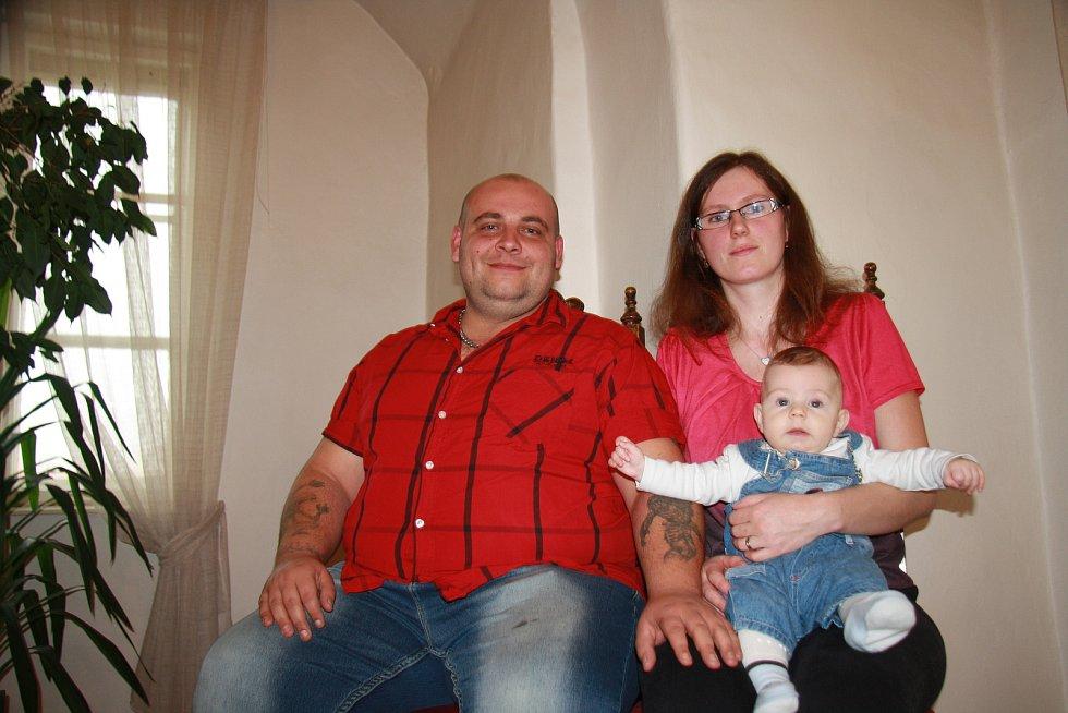 Jiří Nachlinger s rodinou.
