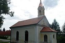 Druhá etapa oprav kaple v osadě Křesánov je hotová.