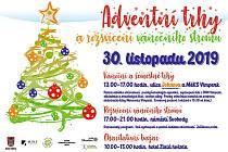 Adventní trhy a rozsvícení vánočního stromu